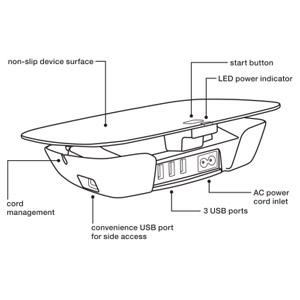 Belkin Conserve Valet Smart USB Charging Station