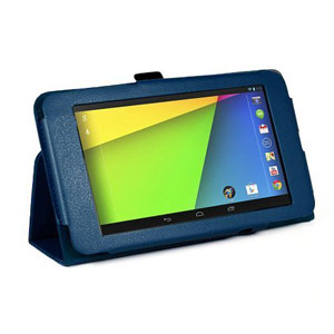 SD TabletWear Stand and Type for Google Nexus 7 - Blue