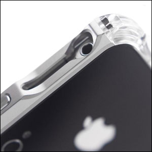 ElementCASE Vapor 4 Case For iPhone 4S / 4 - Grey