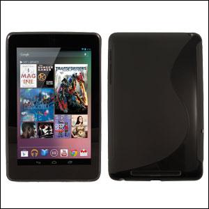 Pack double protection Google Nexus 7 - face arrière