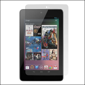 Pack double protection Google Nexus 7 - face