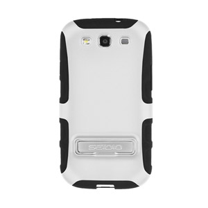 Seidio ACTIVE Case for Samsung Galaxy S3 with Kickstand - White
