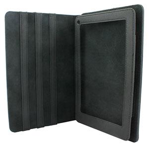 Adarga Folio Horizontal Stand Kindle Fire Case - Black