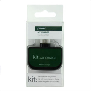 Kit: My Charge Micro USB Emergency Charger