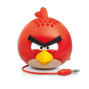 Mini enceinte Gear 4 Angry Bird G4G778G – Red Bird - face avant
