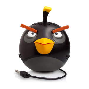 Gear4 Angry Birds G4PG779G  Mini Speaker - Black Bird