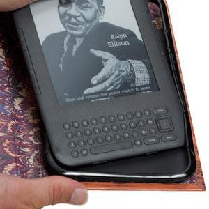 KleverCase False Book Case for Amazon Kindle - Alice in Wonderland