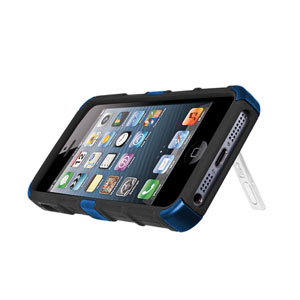 Seidio ACTIVE Case for iPhone 5S / 5 with Kickstand - Blue