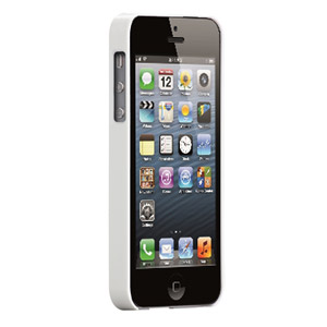 Case-Mate Barely There for iPhone 5 - White