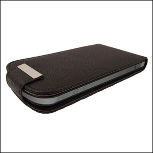 iPhone 5 Flip Case - Black