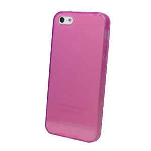 FlexiShield Skin For iPhone 5 - Purple