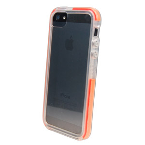Funda iPhone 5 Tech21 D3O Impact Band - Transparente