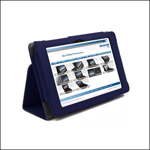 SD Stand and Type Case for Kindle Fire HD - Blue