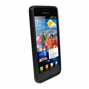 SD Smart Stand Case for Samsung Galaxy S2 - Black