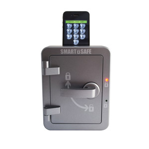 Smartphone Activated Smart Safe for Android and Apple Devices
