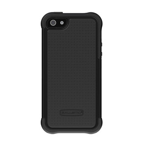 Ballistic Shell Gel Case for the iPhone 5 - Black