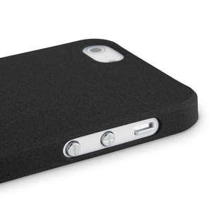 Sandblast Slim Case for iPhone 5 - Black