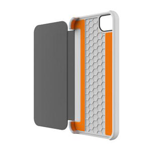 Tech21 Impact Snap Case with Cover for iPhone 5 - White