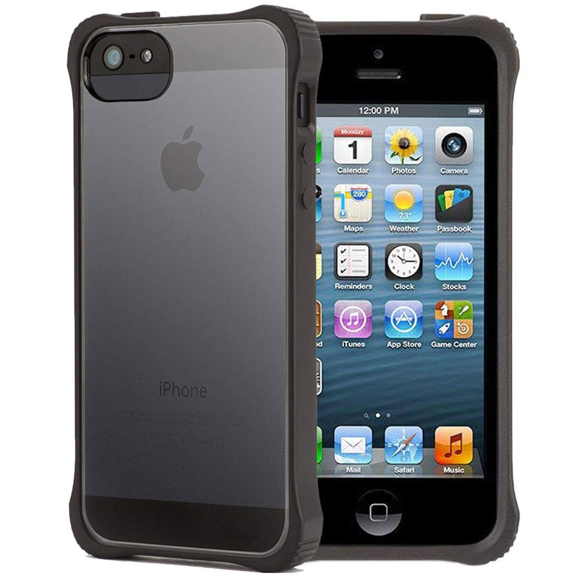 Griffin Survivor Core Case For iPhone 5S / 5 - Black / Clear