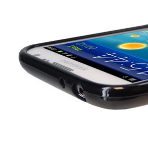 FlexiShield Skin For Samsung Galaxy Note 2 - Black