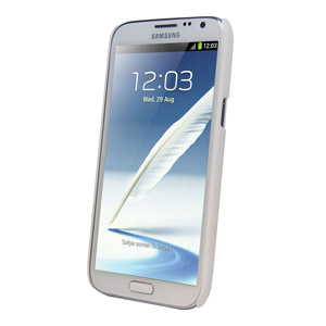 ToughGuard Shell for Samsung Galaxy Note 2 - White