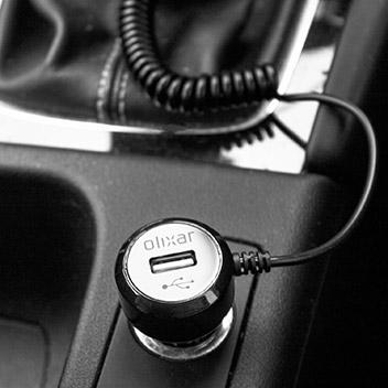 Pack de Coche Olixar DriveTime iPhone 7 - Soporte y Cargador