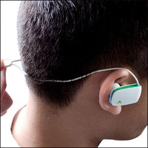Casque Bluetooth Stereo Avantree Sacool – Blanc / Bleu 3