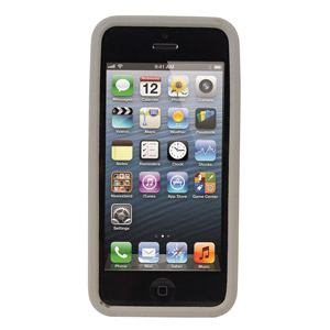 Game Boy Silicone Case for iPhone 5 - Grey