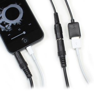 CableJive dockBoss+ iPhone 5 Audio Kit for Apple 30 Pin Docks