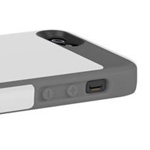 Incipio Faxion Case for iPhone 5 - White / Grey