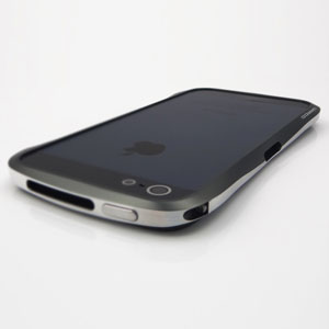 Draco IV Design Aluminium Bumper for the iPhone 5 - Silver