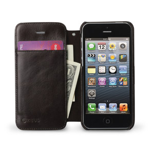 iPhone 5 Ledertasche