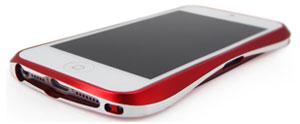 Draco IV Design Aluminium Bumper for the iPhone 5 - Black