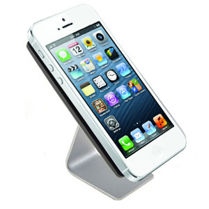 Support bureau en aluminium pour iPhone 5