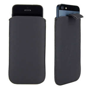 Etui de transport SD Style Daim pour iPhone 5