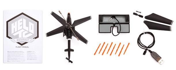Hélicoptère pour Smartphone Griffin Helo Assault Missile