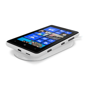 Nokia Original Lumia 820 Wireless Charging Shell CC-3041WH - White