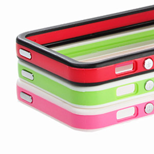 iPhone 5 Sandwich Bumper - Pink & White