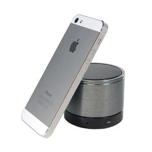 Enceinte Bluetooth SoundWave II - Noire - profil