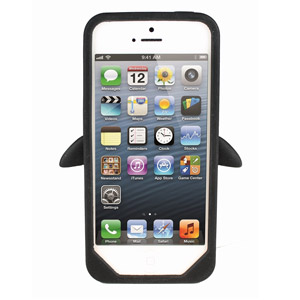 Penguin Silicone Case for iPhone 5