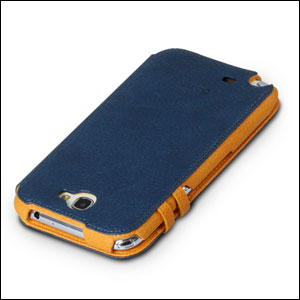 Zenus Masstige Color Edge Diary Case for Samsung Galaxy Note - Navy