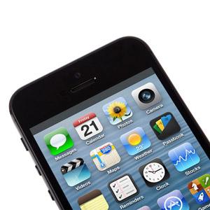 Moshi iVisor XT Screen Protector for iPhone 5 - Black
