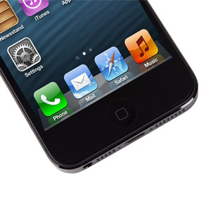 Moshi iVisor XT Screen Protector for iPhone 5 - Black