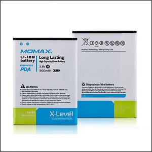 Momax X Level Battery for Samsung Galaxy Note 2