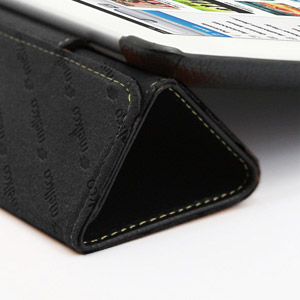 Melkco Slimme Premium Leather Case for iPad Mini - Black