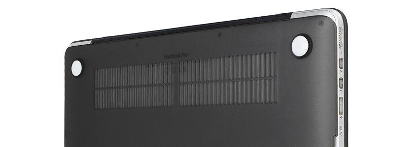 Olixar ToughGuard MacBook Pro Retina 13 inch Case (2012-2015) - Black