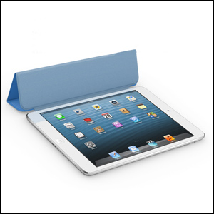 Apple Leather Smart Cover for iPad Mini - Blue