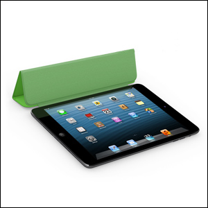 Apple Leather Smart Cover for iPad Mini - Green