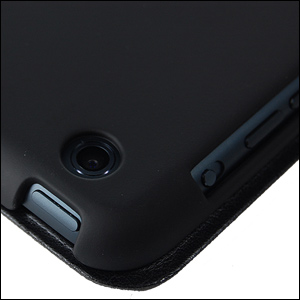 Macally iPad mini Reversible Cover/Hardshell Case with Stand- Black