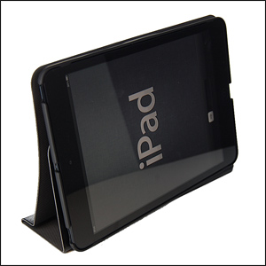 Macally iPad mini Rotating Folio Case with Stand- Black